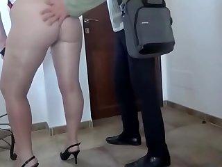 Pantyhose Flashing Big Ass Bitch  more at adulx.club