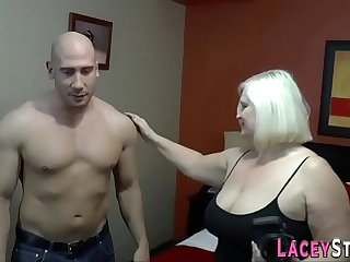 Pussy eaten brit granny gets pounded