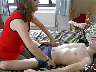 AgedLovE Mature got her Pussy Eated and Fucked