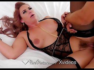 PUREMATURE Big Tit Milf Fucks Big Dick Stranger