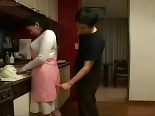 japanese son forced her mom in kitchen to sex here is the complete video link...