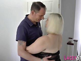 British gran sucks dick and gets pussy eaten
