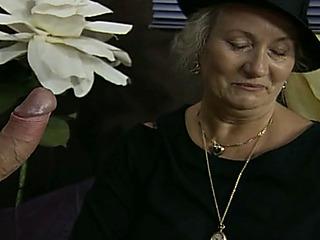 german mature granny widow fucked hard