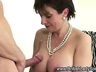 Mature british whore fucked