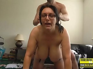 lady with big natural tits wants some hard sex