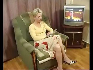 Russian mature anal