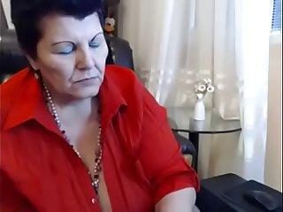 Huge tits granny webcam
