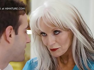 65yo Psychiotherapist Works On A Young Guy  Sally D'_Angelo